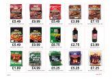 Summer fuels pricecard