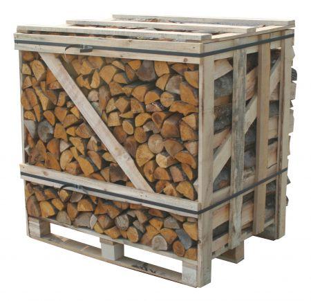 Crate of bulk logs