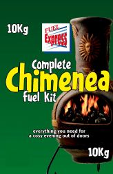 Chimenea fuel bag