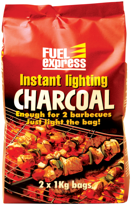 2 x 1kg Instant Light Charcoal