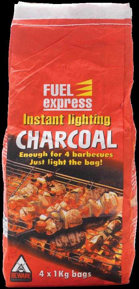 4x1Kg Instant Light Charcoal