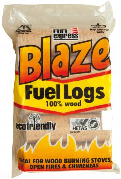 Blaze fuel logs